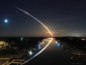 Endeavour launch on February 8 from Ponte Vedre, Florida